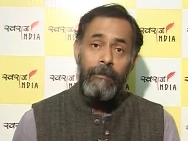 Video : My Finance Minister Asked Me Not To Rush To Banks, So I Didn't: Yogendra Yadav