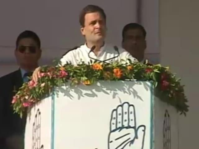 Video : Congress Will Support Any Decision Against Corruption, Says Rahul Gandhi