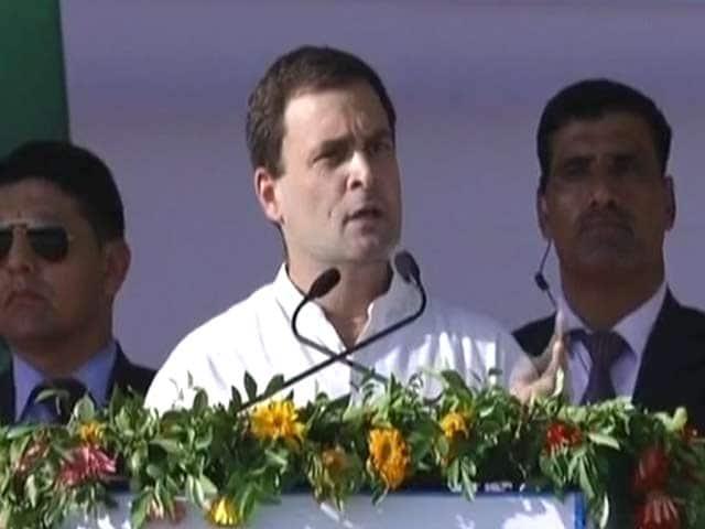 Video : PM Modi Received Kickbacks, Alleges Rahul Gandhi. BJP Calls Him 'Bluffmaster'