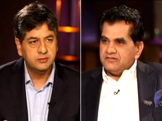 Video : India Among Top 25 Business-Friendly Countries In 5 Years: Amitabh Kant