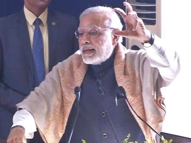 Video : No Chance Of Earthquake Now That He Has Spoken, PM Taunts Rahul Gandhi