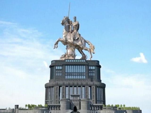 Video : मुंबई - पीएम ने किया शिवाजी महाराज के स्मारक का शिलान्यास