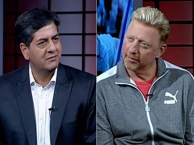 Video : Tennis And More With Boris Becker