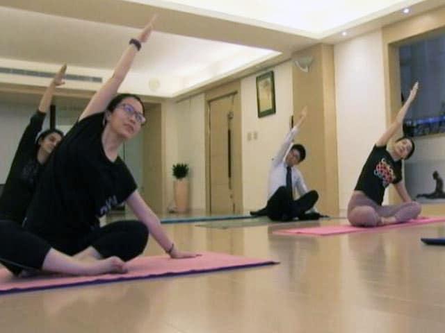 Video : ताइवान में लोकप्रिय होता योग