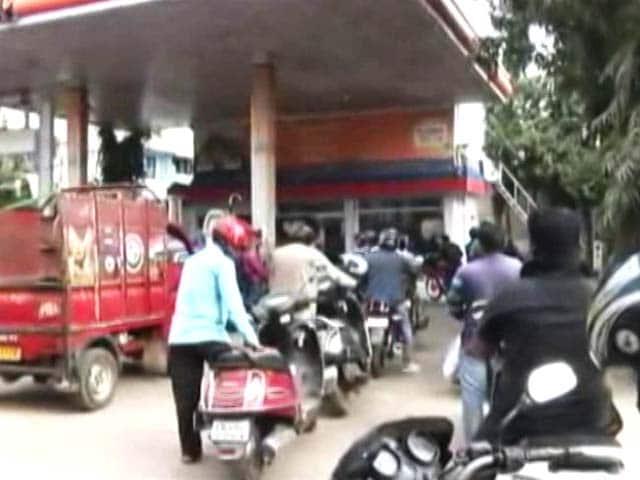 Video : Manipur Blockade Leads To Fuel Crisis In Landlocked Tripura And Mizoram
