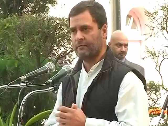 Video : PM Narendra Modi Instilling Fear Among Masses, Notes Ban An Example: Rahul Gandhi