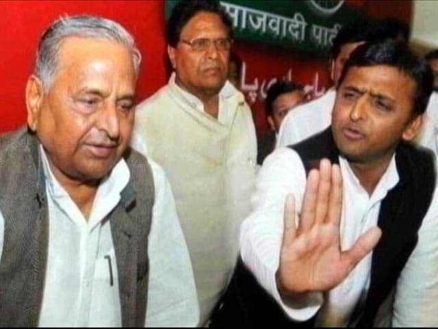 Video : Akhilesh Yadav Named Party Chief, Not Ok, Says Mulayam