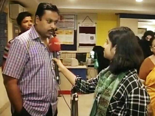 Videos : हैदराबाद : एटीएम में अभी भी पर्याप्त कैश नहीं