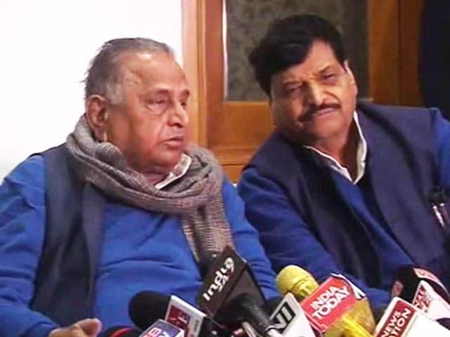 Video : Akhilesh Yadav Expelled By Father Mulayam, Party Set To Split