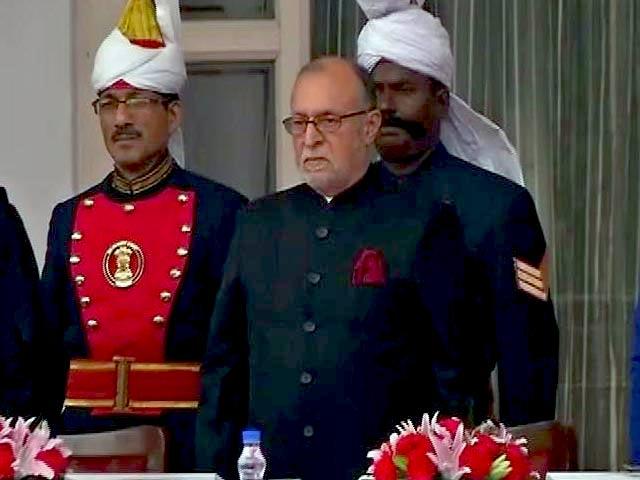 Videos : दिल्ली के 21वें उप-राज्यपाल के तौर पर अनिल बैजल ने ली शपथ