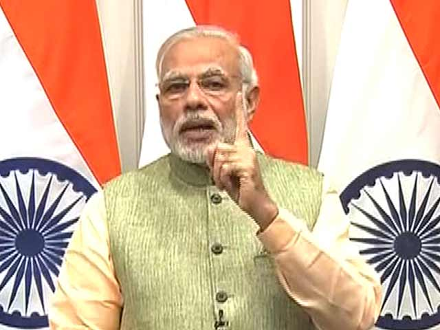 Video : Corrupt Will Not Be Spared, Says PM Modi On Notes Ban