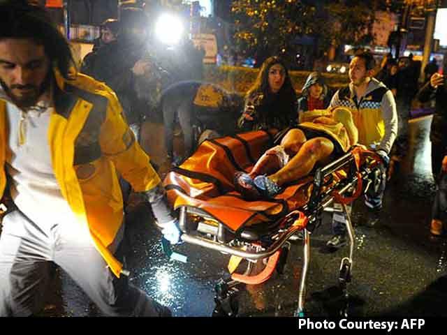Video : 39 Killed, Many Injured In Istanbul Nightclub 'Terror Attack'