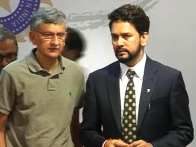 Video : Supreme Court Removes Anurag Thakur As BCCI President