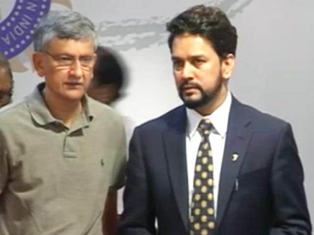 Videos : सुप्रीम कोर्ट ने बोर्ड अध्यक्ष अनुराग ठाकुर और सचिव अजय शिर्के को हटाया