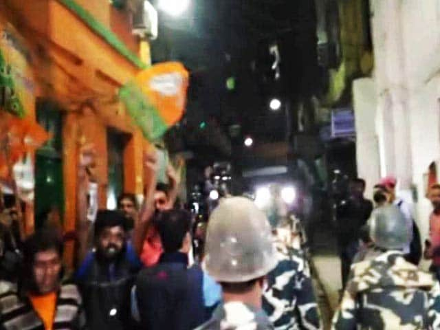 Video : BJP Leader's House Bombed Allegedly By Trinamool Workers