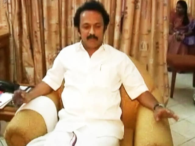 Video : Stalin Promoted, Is Virtually DMK Boss Now, Father Karunanidhi Unwell