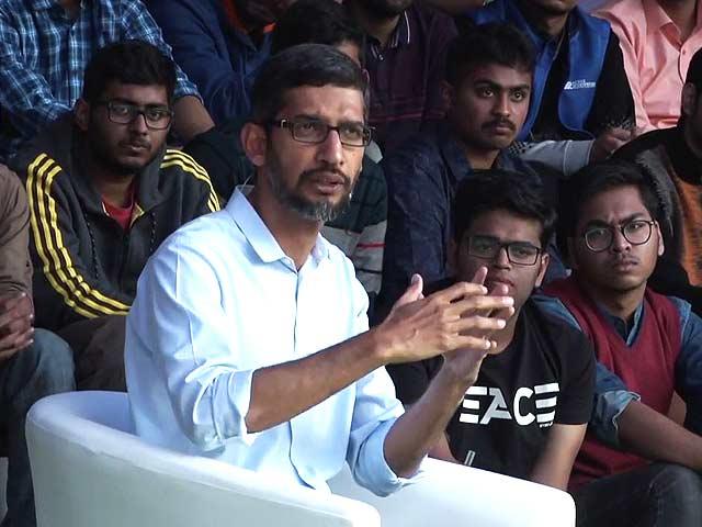 Video : How To Get A Google Job Explained By CEO Sundar Pichai