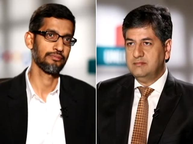 Video : 'Google Capital' For Start Up India