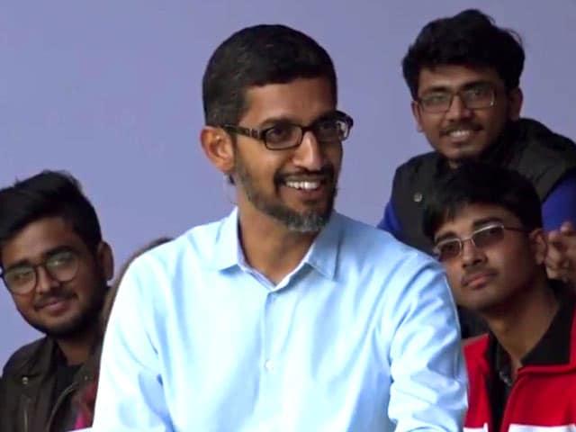 Video : Sundar Pichai on His 'Abbey Saaley' Moment, Ragging at IIT-Kharagpur, Deepika Padukone, and More