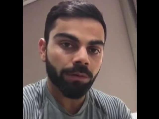 Video : Virat Kohli Speaks Out Against Bengaluru Molestation Incident