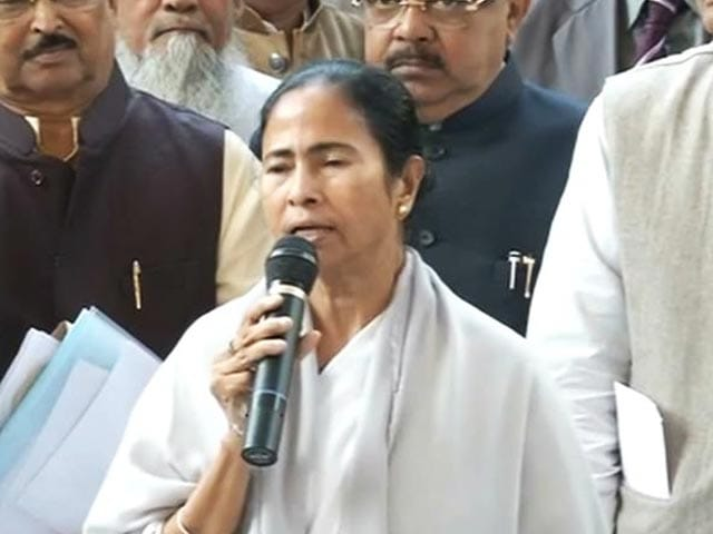 Video : It Should Be PM Jaitley or Advani, Says Mamata Banerjee To President
