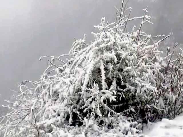 Video : कश्मीर घाटी में भारी बर्फबारी : जम्मू कश्मीर हाईवे बंद