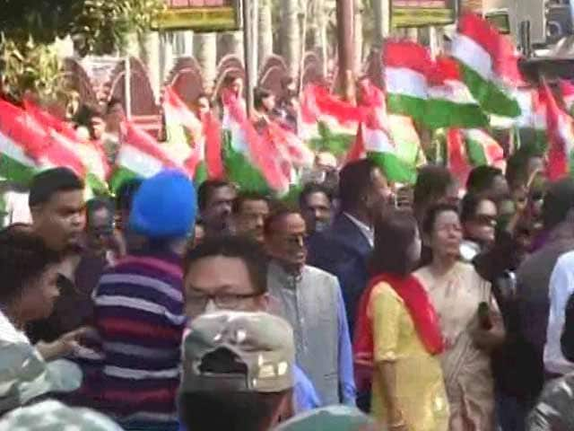 Video : Congress Seeks Revival In Assam Riding On Anti-Notes Ban Wave