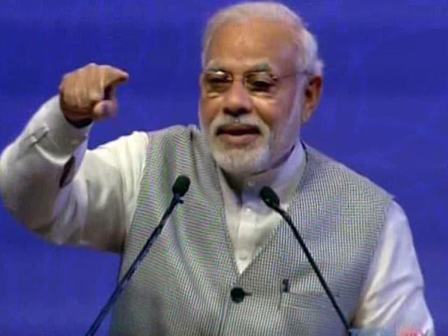 Video : At Pravasi Bharatiya Divas, PM Narendra Modi Slams 'Black Money Worshippers'