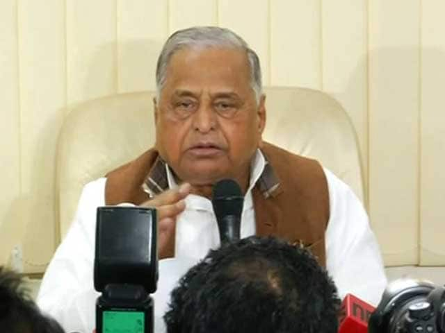 Video : Akhilesh May Have Numbers, But Mulayam Singh Says He Is Still Samajwadi Party Boss