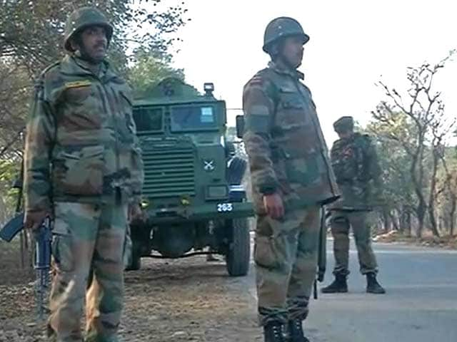 Video : Akhnoor Terror Attack: Hunt On For Terrorists Who Killed 3 At GREF Camp