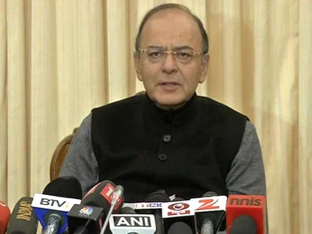 Video : Arun Jaitley Cites Higher Tax Collection To Dismiss Slowdown Fears