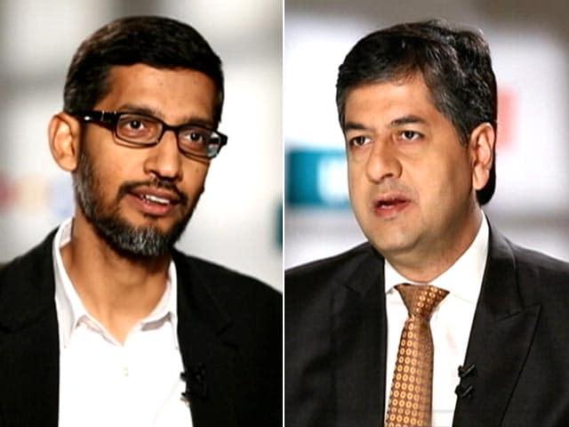 Video : Power Talk With Google CEO Sundar Pichai