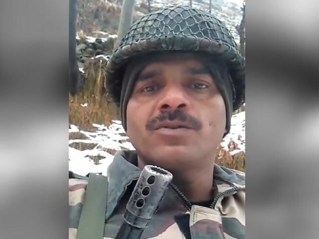 Video : 'Look At What We Eat': BSF Jawan Whose Videos Went Viral Shifted