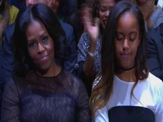 Video : Barack Obama, In Tribute to Wife Michelle, Calls Her His Best Friend
