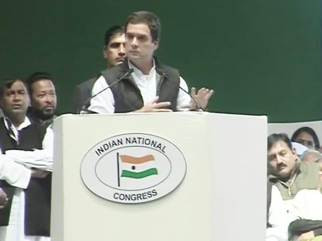Video : 'Mitron' And 'Achche Din' In Rahul Gandhi's Attack On PM Narendra Modi