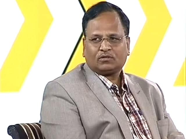 Video : Breaking Traffic Law, Especially In Delhi, Considered A Symbol Of Power: Satyendra Jain