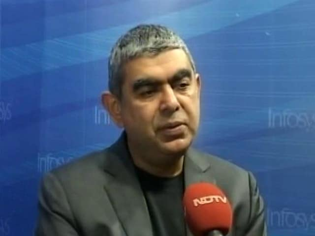 Video : Not Too Worried About H-1B Visa Restrictions:  Infosys CEO Vishal Sikka