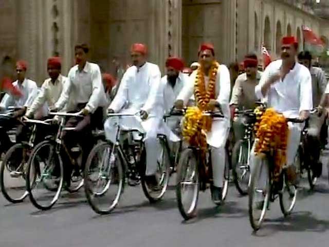 Video : बड़ी खबर : किसको मिलेगी 'साइकिल'?