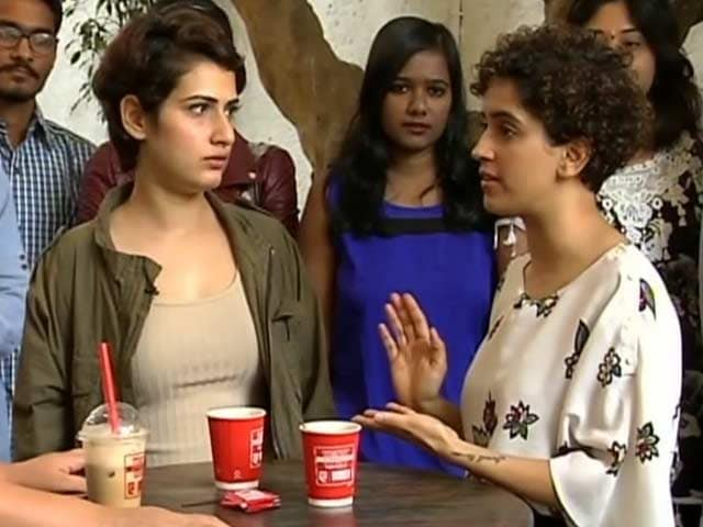 Video : <i>Dangal</i> Sisters Sanya and Fatima Talk About Their Bond