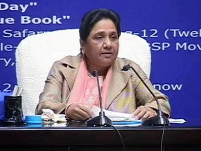 Video : Amid Low Key Birthday, Mayawati's High Spirited Attack On Rivals