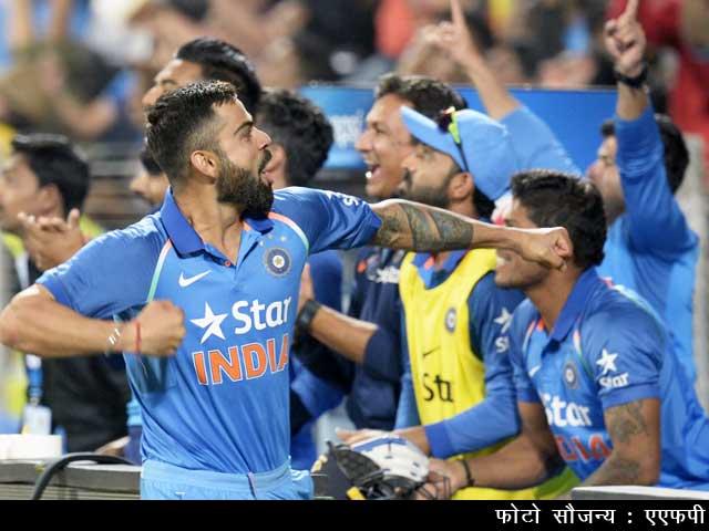 Videos : पहला वनडे : भारत ने इंग्लैंड पर तीन विकेट से शानदार जीत दर्ज की