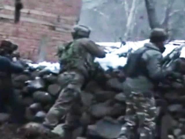 Video : 3 Hizbul Terrorists Killed In Encounter In Jammu And Kashmir's Anantnag