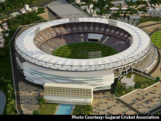 Work Begins On World's Biggest Cricket Stadium In Ahmedabad