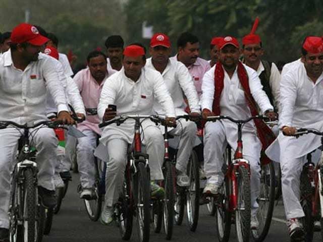Video : Akhilesh Yadav Wins Cycle. Coming Soon, Grand Alliance With Congress
