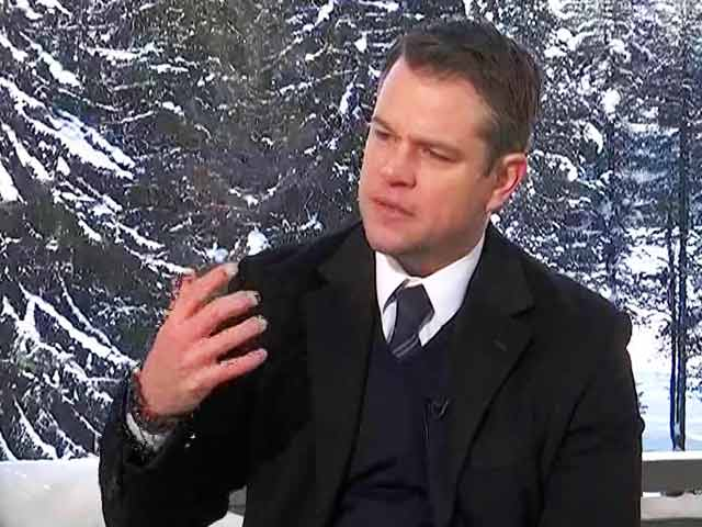 Video: My Daughters Aren't Impressed With My Celebrity Status: Matt Damon to NDTV