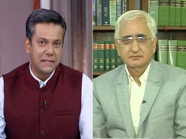 Video : Congress Alliance With Akhilesh Yadav Not A One Night Stand: Salman Khurshid