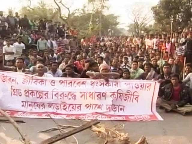 Video : At Least 1 Killed In Clashes Over Power Station In Bhangar Near Kolkata