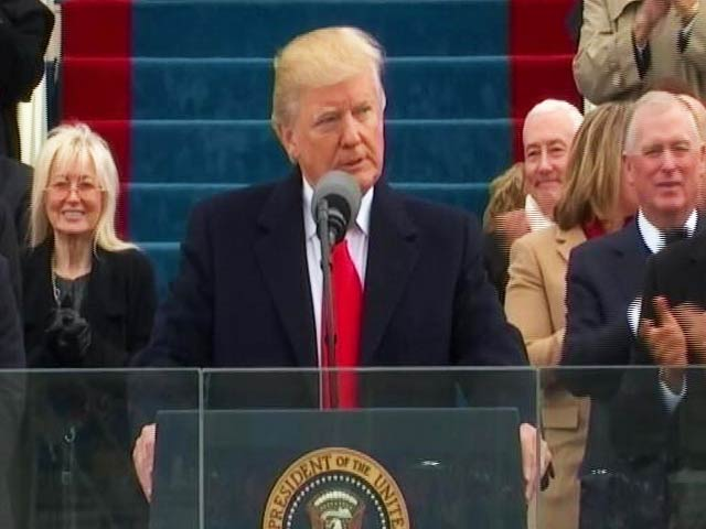 Video : Now, Only America First: Watch Donald Trump's Inaugural Speech