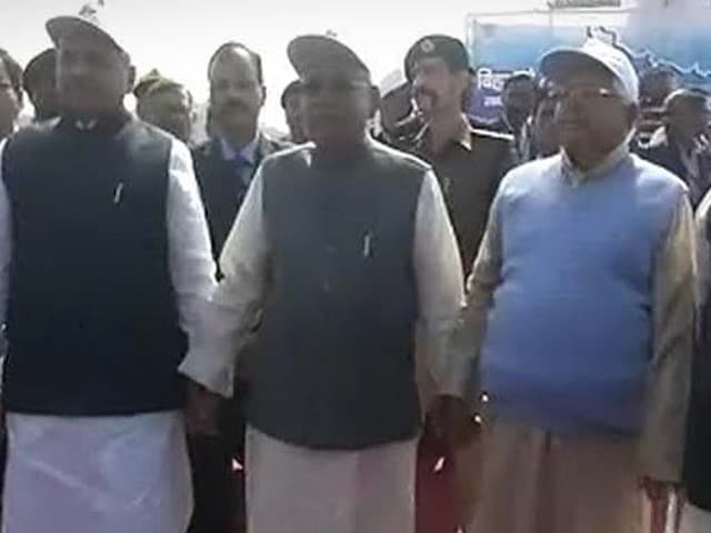 Video : शराबबंदी के मुद्दे पर बिहार में 11 हज़ार किमी मानव श्रृंखला