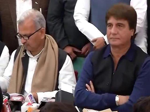 Video : Samajwadi Party, Congress Announce Alliance For Uttar Pradesh Elections